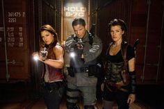 Resident Evil AF  Clare,Chris,and Alice