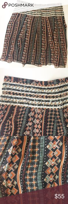 Free People Silk Patterned Skirt Preloved (Has scratches on skirt) (See photos) Feel free to ask any questions, make a reasonable offer, or add to a bundle for 15% 2 or more items. Free People Skirts Mini
