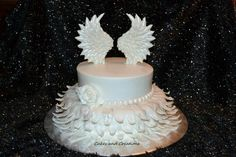 Shannon Ritter, Cakes and Creations:  Angel Wings Cake.