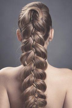 Einfache Zopffrisuren. Frisuren | Bild Nummer 1132 | Neue, schöne ... | Frauen Haare |