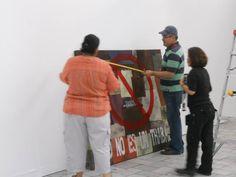 Participación en actividades artísticas (trabajando en equipos museográficos).