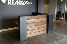 warehouse gym reception counter - Google Search