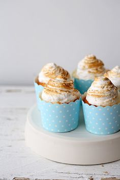 Vanilla Cupcakes with Berry Compote & Marshmallow Frosting | Beyond Sweet and Savory