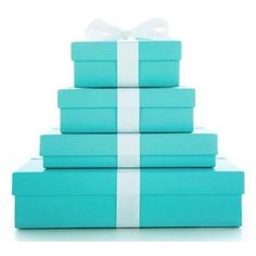 Tiffany & Co. - Everyone should unwrap a Tiffany's box at some point in their life!