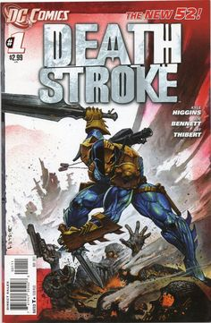 Deathstroke 1 / NEW 52 / Bisley Cover / 1st Print / NM DC Comics 2011