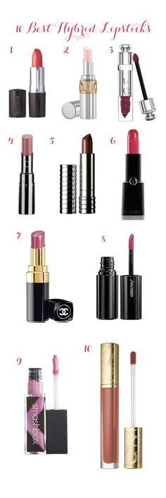 10 Best Hybrid Lipsticks