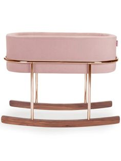 Shop this monte design blush / copper rockwell bassinet from our top selling Monte Design beds. LuxeDecor is your premier online showroom for bedroom furniture and high-end home decor. Baby Room Design, Baby Room Decor, Baby Alive Food, Baby Girl Items, Newborn Schedule, Baby Doll Nursery, Baby Registry Items, Baby Swings, Baby Time