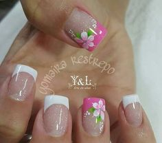 Here are some hot nail art designs that you will definitely love and you can make your own. You'll be in love with your nails on a daily basis. Fingernail Designs, Toe Nail Designs, Nail Polish Designs, Nails Design, Fancy Nails, Pink Nails, Pretty Nails, Toe Nail Art, Toe Nails