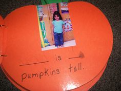 How Many Pumpkins Tall Are We? Class Book