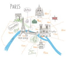 Find Simple Cartooned Map O Paris Legend stock images in HD and millions of other royalty-free stock photos, illustrations and vectors in the Shutterstock collection. Thousands of new, high-quality pictures added every day. Plan Paris, Travel Doodles, Maps For Kids, City Illustration, I Love Paris, Paris City, Dream City, France, Tour Eiffel