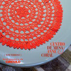 Valorize o ambiente com o centro de mesa anne coral. Confira a receita clicando na imagem.