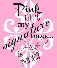PINK IS ME!!! Bebe'!!! Delightfully pink!!!