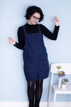 Selmin's Cleo pinafore - sewing pattern from Tilly and the Buttons