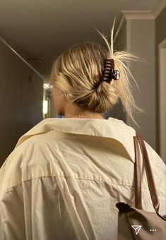 Clip Hairstyles, Trendy Hairstyles, Cabelo 3c 4a, Beauté Blonde, Tumbrl Girls, Aesthetic Hair, Beige Aesthetic, Dream Hair, Hair Day