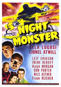 142. 12/06/2015 Night Monster (1942)