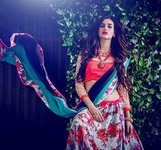 #Vyomini - #FashionForTheBeautifulIndianGirl #MakeInIndia #onlineshopping #Discounts #Women #Style #EthnicWear #OOTD #Lehenga  only Rs 2158/-, get Rs 400/- #CashBack  ☎+91-9810188757 / +91-9811438585