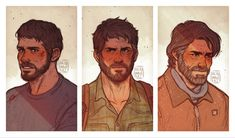 Video Game Art, Video Games, Joel And Ellie, The Last Of Us2, Face Sketch, High Fantasy, High Five, Yandere, Best Games