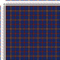 draft image: Figurierte Muster Pl. XVII Nr. 20, Die färbige Gewebemusterung, Franz Donat, 2S, 2T