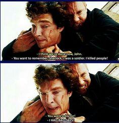 John and Sherlock...