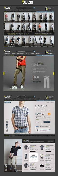 Jules - #website #webdesign #ecommerce