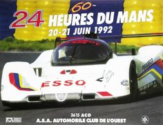 1992 60ª 24 Horas de Le Mans Sport Cars, Race Cars, Motor Sport, Peugeot, Lemans Car, 24 Hours Le Mans, Automobile, The Great Race, Bike Art