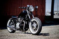 XJ650 Maxim Bobber   Flickr - Photo Sharing!