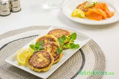 Keto Cheese Fritters Recipe with Ricotta amp Parmesan Cheese Fritters Recipe, Ricotta Cheese Recipes, Keto Cheese, Ricotta Fritters, Zucchini Fritters, Low Carb Dinner Recipes, Keto Recipes, Cooking Recipes, Diabetic Recipes