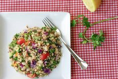 This colorful salad from baseball Sis Alysa Bajenaru is perfect as a side dish, but it is also hearty enough to star on it's own as the main dish... Click to see the recipe and get to making!  #SistersInSports #SisLife #Food #Recipes #Salads