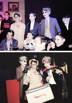 EXO @ SMTOWN Halloween Party