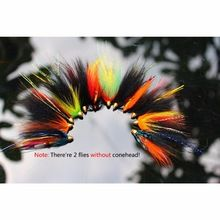 the best Free Shipping!!! 12 pcs Assorted Tube Fly Set Fly Fishing Salmon Fly Trout  Fly Free Box