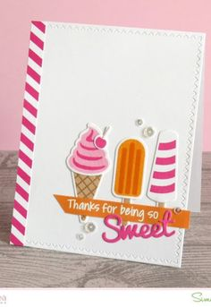 Sugar Pea Designs Summer Scoops Stamp