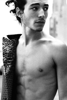 Ezra Miller as Wolf Grigorov. I mean, just look at him.