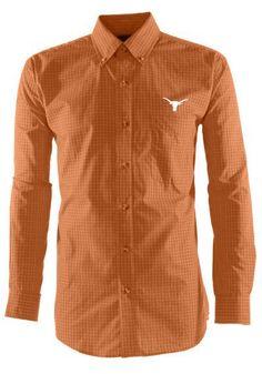 Texas Longhorns Mens Antigua Dress Shirt http://www.rallyhouse.com/shop/texas-longhorns-antigua-dress-shirt-mens-texas-orange-esteem-long-sleeve-button-down-shirt-3230456?utm_source=pinterest&utm_medium=social&utm_campaign=Pinterest-TexasLonghorns $49.99