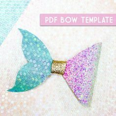 PDF Bow Template #8 Digital File Download