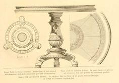 IMG / дизайн мебели мебель / круглый стол, покрытый имитацией кожи черного дерева украшения gauffres.jpg