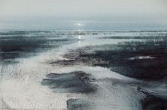 Even Songs by Naomi Tydeman(British) Watercolour paintings