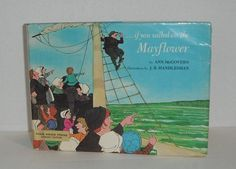 If You Sailed on the Mayflower by Ann McGovern by Starrylitvintage