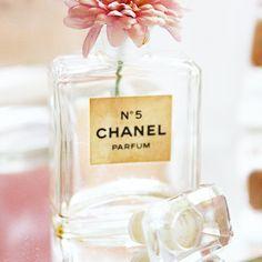 recycle perfume bottles in the bathroom!