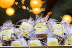 #smores  brownies, cookies, it all works with an adorable label, and the right bags and ties  Read More: http://www.stylemepretty.com/2012/09/11/rancho-dos-pueblos-wedding-from-xoxo-bride-altf-photography/