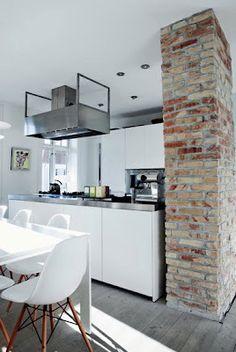 Danish apartment of Louise Wichmann