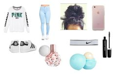 """""""testing day"""" by love02-k ❤ liked on Polyvore featuring adidas Originals, Victoria's Secret, NIKE, Marc Jacobs and River Island"""