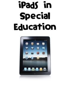 iPads in Special Education document