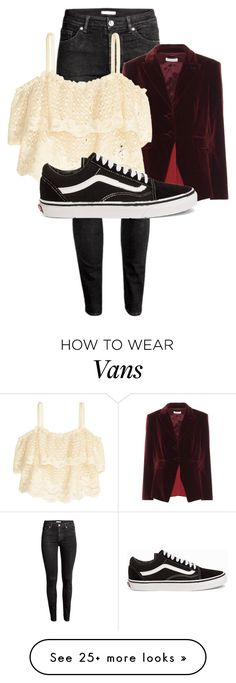 """""""Tumblr Girls"""" by blooming-absinthines on Polyvore featuring H&M, Altuzarra and Vans"""