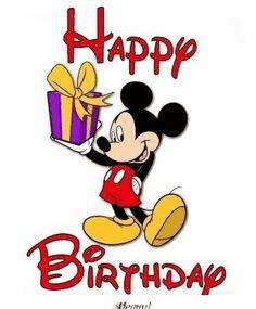 Mickey Mouse - happy birthday