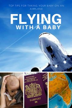 Flying with a baby might seem really scary, but experience has shown me that taking a baby on a plane doesn't have to be stressful. Here are my 5 top tips!