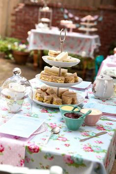 tea sandwiches tea party cakewalk baking