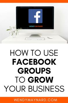 How to use groups to grow your // Wendy Marynard Facebook Marketing Strategy, Business Marketing, Online Marketing, Social Media Marketing, Online Business, Business Launch, Seo Marketing, Business Entrepreneur, Best Facebook
