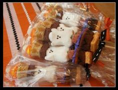 These couldn't be more perfect for Halloween goodies!