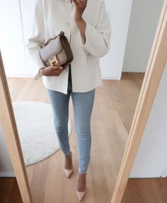 Spring Work Outfits, Winter Fashion Outfits, Simple Outfits, Classy Outfits, Chic Outfits, Fall Outfits, Autumn Fashion, Office Fashion, 80s Fashion