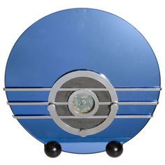 """Art Deco Sparton 566 """"Bluebird"""" Radio by Walter Dorwin Teague 